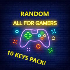 RANDOM Steam ПАК из 10 ключей (Region FREE) Выгода 100%