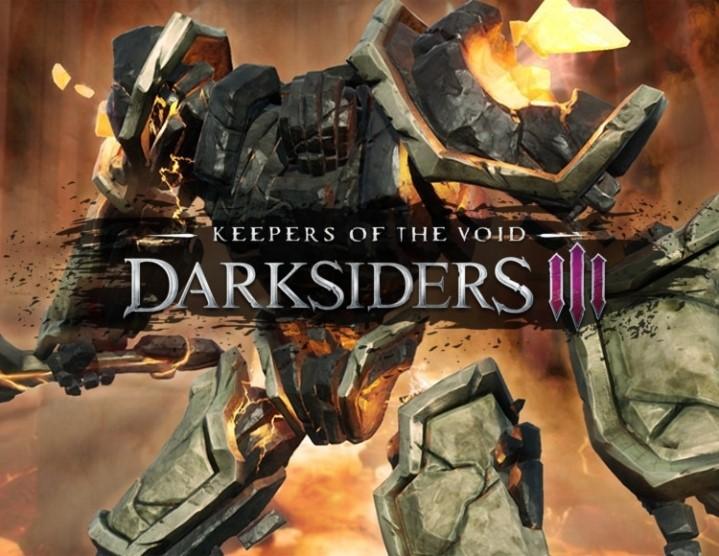 Darksiders III  Keepers of the Void (steam key) -- RU