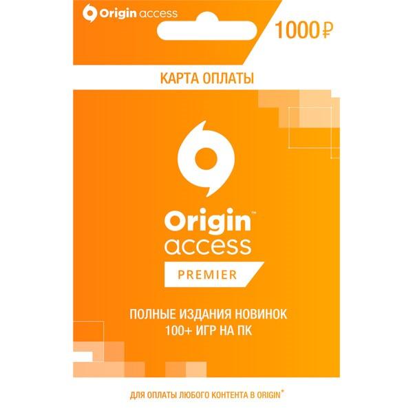 Origin Access Premier  | Пополнение 1000 RUB (RU/CIS)