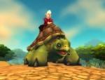 Horse Turtle (Riding Turtle - SALTWATER SNAPJAW)