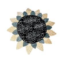 Production of decor. Pillow Sunflower