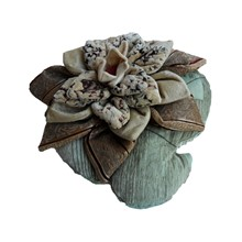 Production of decor. Pillow Waterlily