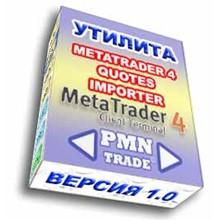 Import quotations in MetaTrader 4
