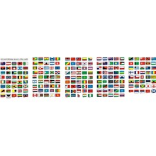 Flags of the countries of the world in vector (Corel Draw 11)