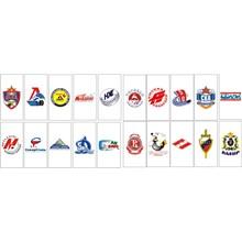 KHL Russian hockey team (vector)