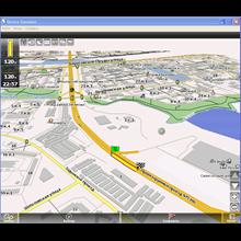 Auto-map of the Vologda region for Navitel Navigator