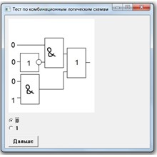 Test of combinational logic circuits