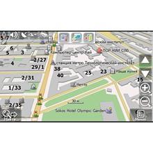 Auto-card Leningrad region for Navitel Navigator
