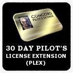 Pilot License Extensions (PLEX)