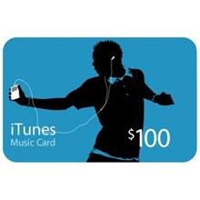 iTunes Gift Card $ 100 USA - Discounts