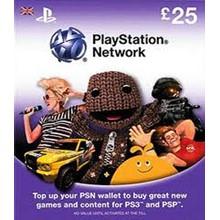 Playstation Network PSN  £25 (UK)
