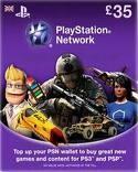 Playstation Network PSN  £ 35 (UK)