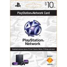 Playstation Network PSN $ 10 (USA) + Discounts