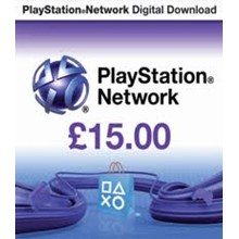 Playstation Network PSN £15 (UK)