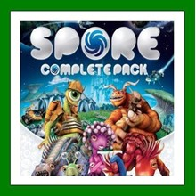 SPORE Complete Pack + 10 Games - Steam - RENT ACCOUNT