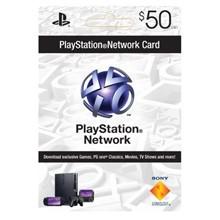 PLAYSTATION NETWORK (PSN) - $50 (USA) | Discounts