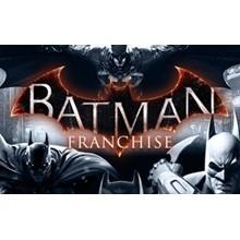 Batman Franchise Pack 4 games + 8 DLC  Steam Gift/ RU