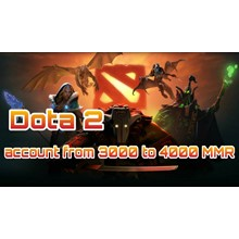 DOTA 2 | from 3000 to 4000 ranking