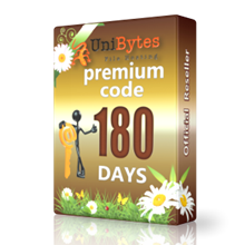 Unibytes premium access for 180 days immediately buy