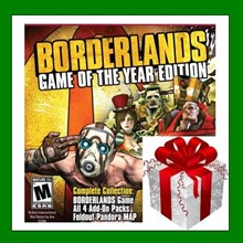 Borderlands Game of the Year + 10 games - RENT ACCOUNT