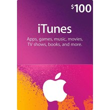 iTUNES GIFT CARD - $100 (USA) 🎵 | DISCOUNTS