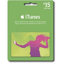 iTUNES GIFT CARD - $15 (USA) 🎵 | DISCOUNTS