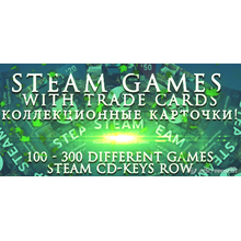 Steam games with farm trading cards, lvlup