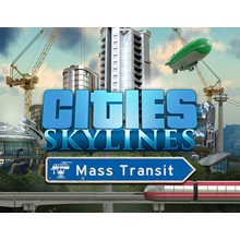 CITIES SKYLINES MASS TRANSIT (Steam) IN STOCK + GIFT