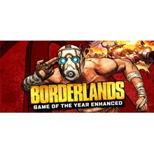 Borderlands Enhanced Game of the Year STEAM Gift / ROW