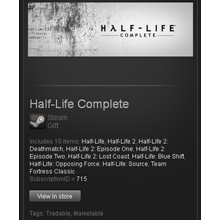 Half-Life: Complete - STEAM Gift / GLOBAL / ROW