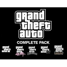 Grand Theft Auto Collection (Steam Gift / Region Free)