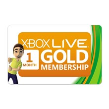XBOX LIVE GOLD 1 MONTH (ALL REGIONS RU / EU / US) | DIS