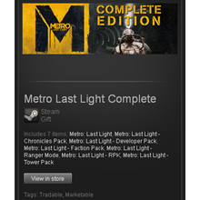 Metro Last Light Complete Edition - STEAM Gift / GLOBAL