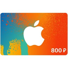 iTunes Gift Card (RUSSIA) - 800 rubles.
