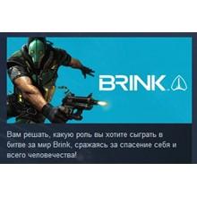 BRINK STEAM KEY RU+CIS LICENSE