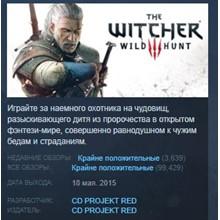 The Witcher 3: Wild Hunt ДИКАЯ ОХОТА  💎 STEAM GIFT RU