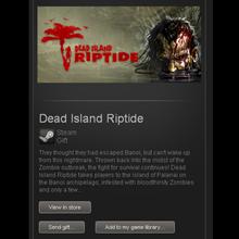 Dead Island Riptide - STEAM Gift - Region Free / GLOBAL
