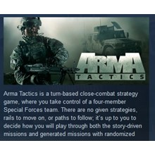 Arma Tactics STEAM KEY REGION FREE GLOBAL 💎