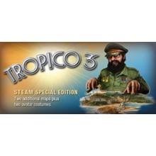 Tropico 3: Gold Edition STEAM KEY RU+CIS LICENSE 💎