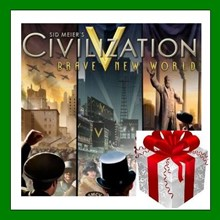 Civilization V 5: Brave New World - Steam RU-CIS-UA