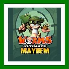Worms Ultimate Mayhem - Steam Key - RU-CIS-UA