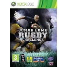 Xbox 360   Jonah Lomu Rugby Challenge   TRANSFER