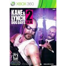 Xbox 360   Kane & Lynch 2   TRANSFER + Game