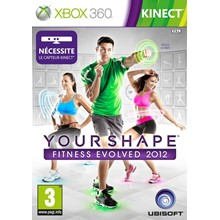 Xbox 360 | Your Shape FE 2012 | TRANSFER + GAME