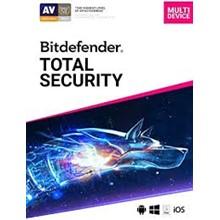 Bitdefender Total Security 2021 - 90 days 5 devices