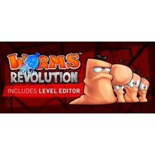 Worms Revolution Gold - STEAM Gift  / GLOBAL / ROW