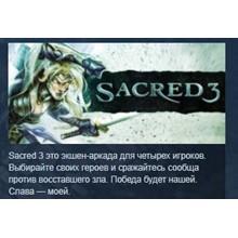 Sacred 3 STEAM KEY RU+CIS LICENSE 💎