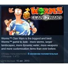 Worms Clan Wars 💎STEAM KEY RU+CIS LICENSE