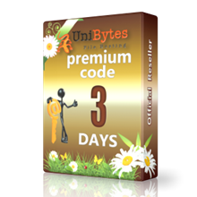Unibytes premium access for 3 days to buy instantly