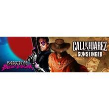 Call of Juarez Gunslinger + Far Cry 3 Blood Dragon ROW